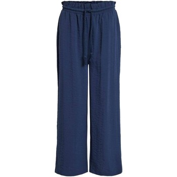Vêtements Femme Pantalons fluides / Sarouels Vila VILINEA 7/8 PANTS Bleu