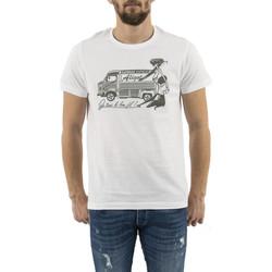 Vêtements Homme T-shirts manches courtes Adn12 aligot blanc