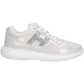 Chaussures Enfant Baskets basses Hogan HXC3710AP30KIIB200 argent