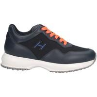 Chaussures Enfant Baskets basses Hogan HXC00N0V311KIR123L Basket Enfant bleu bleu