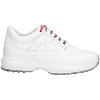 Chaussures Enfant Baskets basses Hogan HXC00N0O241FH5B001 Basket Enfant Blanc Blanc