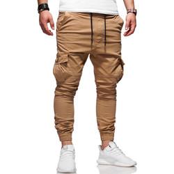 Vêtements Homme Pantalons cargo Kc 1981 Jogger chino treillis Pantalon 3292 marron Marron