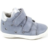 Chaussures Fille Baskets basses Noel Baskets cuir AGAVY bleu