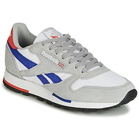 Chaussures Baskets basses Reebok Classic CL LEATHER MU Gris / bleu