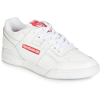 Chaussures Baskets basses Reebok Classic WORKOUT PLUS MU Blanc / Rouge