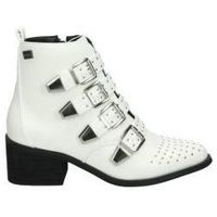 Chaussures Femme Bottines Coolway Boots  juno mode jeune blanc blanc