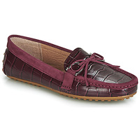 Chaussures Femme Mocassins Lauren Ralph Lauren BRILEY Bordeaux
