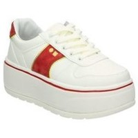 Chaussures Femme Baskets basses Coolway RUSH rouge