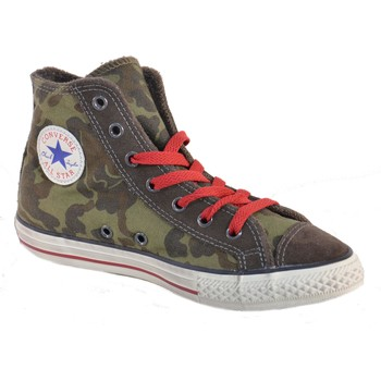 Chaussures Garçon Baskets montantes Converse ALL STAR CT SIDE ZIP VERDI Vert