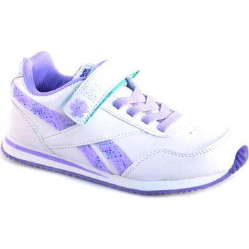 Chaussures Fille Baskets basses Reebok Sport BIANCO VIOLA PELLE Blanc