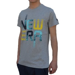 Vêtements Homme T-shirts manches courtes New-Era Pixel Speed Grigia Gris
