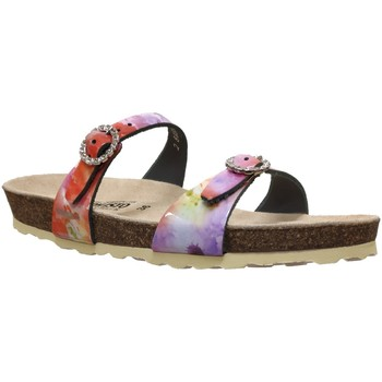 Chaussures Femme Mules Mephisto Norie Multi rose cuir