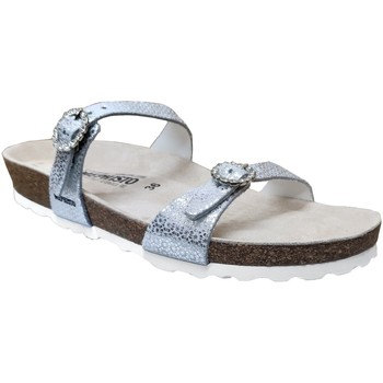 Chaussures Femme Mules Mephisto Norie Gris cuir