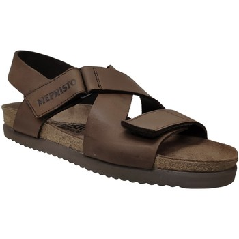 Chaussures Homme Mules Mephisto NADEK Marron cuir