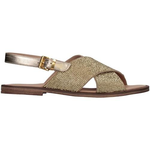 080a51131b01f Chaussures Fille Sandales et Nu-pieds Florens Z975411D PELLE PLATI Platine