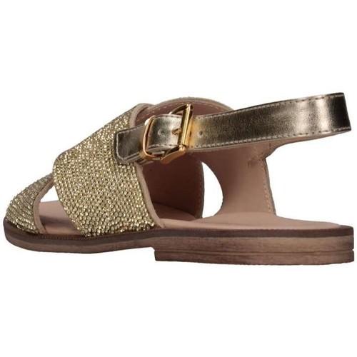 Chaussures Fille Nu Florens Z975411d Pelle Plati Et pieds Platine Sandales rdstChQ