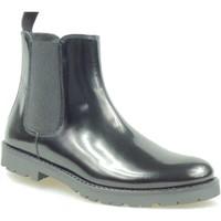Chaussures Enfant Boots Florens Z810716V PELLE NERO Noir