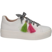Chaussures Fille Baskets basses Florens Z1467CAM BIANCO blanc