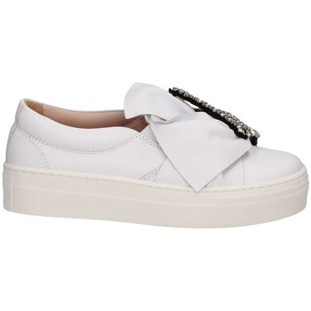 Chaussures Fille Slip ons Florens Z145829B BIANCO blanc