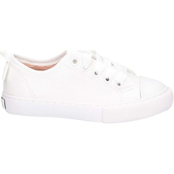 Chaussures Enfant Baskets basses Unisa XENIA LYC WHITE Blanc