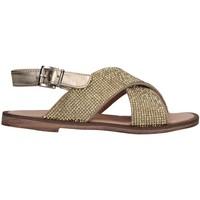 Chaussures Fille Sandales et Nu-pieds Florens W875611D PELLE PLATI platine