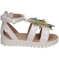Chaussures Fille Sandales et Nu-pieds Florens W0881001 BIANCO/MULT blanc