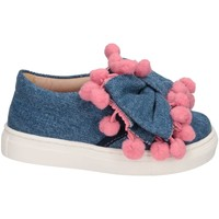 Chaussures Fille Slip ons Florens W055327I JEANS/ROSA bleu