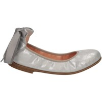 Chaussures Fille Ballerines / babies Unisa SMALY 19 ON SILVER Argent
