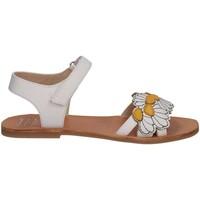 Chaussures Fille Sandales et Nu-pieds Manuela De Juan S2545 IKIA WHITE SET Blanc