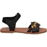 Chaussures Fille Sandales et Nu-pieds Manuela De Juan S2545 IKIA BLACK SET Noir