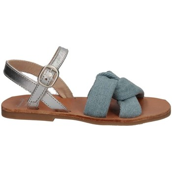 Chaussures Fille Sandales et Nu-pieds Manuela De Juan S2541 GAIA BLUE Bleu