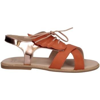 Chaussures Fille Sandales et Nu-pieds Manuela De Juan S2535 AILEN PEACH Orange