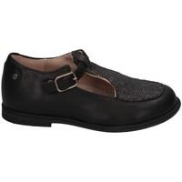 Chaussures Fille Ballerines / babies Manuela De Juan S2400 CARLO BLACK Noir