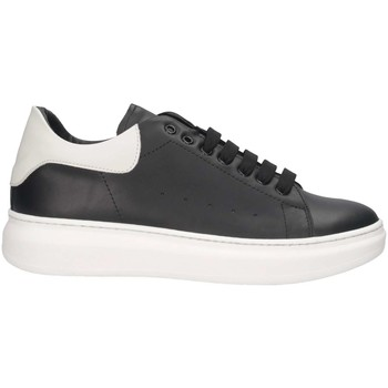 Chaussures Homme Baskets basses Made In Italia REY 1 NERO/BIANCO Noir / Blanc