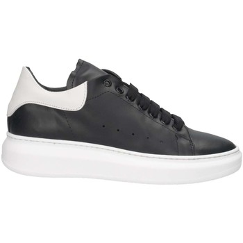 Chaussures Femme Baskets basses Made In Italia REY 1D NERO/BIANCO Noir / Blanc
