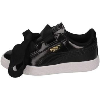 Puma Enfant Pum363894-001 Basket  Noir