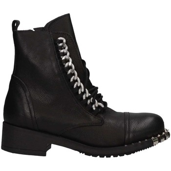 Chaussures Femme Bottes ville Metisse MT141 NERO Noir