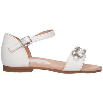 Chaussures Fille Sandales et Nu-pieds Unisa LUMO RI WHITE Blanc