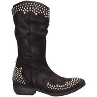 Chaussures Femme Bottes ville Le Pure LP20 NABUK Noir