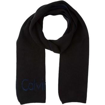Accessoires textile Homme Echarpes / Etoles / Foulards Calvin Klein Jeans K50K501993 910 Echarpes Homme Noir / Bleu Noir / Bleu