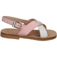 Chaussures Fille Sandales et Nu-pieds Il Gufo G737 BIANCO/ROSA Blanc / Rose