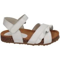Chaussures Fille Sandales et Nu-pieds Il Gufo G564 BIANCO ROUGE blanc
