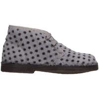 Chaussures Enfant Boots Il Gufo G121 CAVALLINO Gris