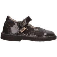 Chaussures Fille Ballerines / babies Il Gufo G100 ASPHALT asphalte