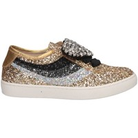Chaussures Fille Baskets basses Florens F66851-2 ORO/MIX or