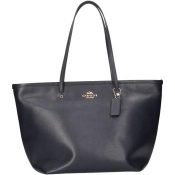 Sacs Femme Cabas / Sacs shopping Coach F34103 IMMD Shopping Femme bleu bleu