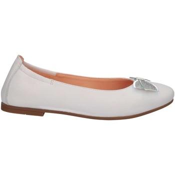 Chaussures Fille Ballerines / babies Unisa DORAL NT WHITE Blanc