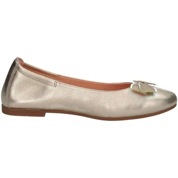 Chaussures Fille Ballerines / babies Unisa DORAL LMT PLATINO or