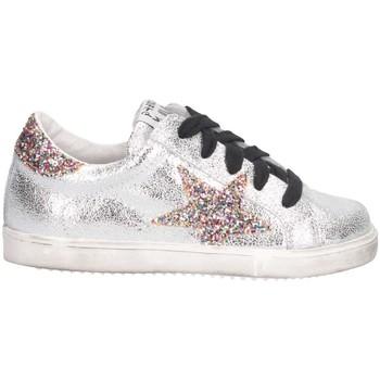 Chaussures Fille Baskets basses Meline CW 6 B argent