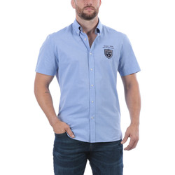 Vêtements Homme Chemises manches courtes Ruckfield Chemise sport rugby Bleu